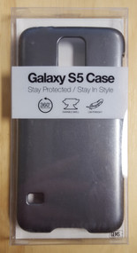 Gems Galaxy S5 Case Silver Gray Cover Grey Fitted - EE565109