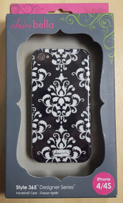Clairebella Elibrium 365 Case For iPhone 4 And iPhone 4S Cover Black - EE565112