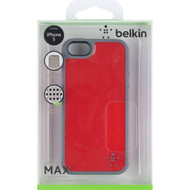 Belkin Grip Candy Max Cell Phone Case For iPhone 5 5S SE Red/slate - EE538054