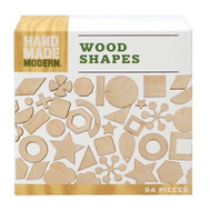Hand Made Modern Wooden Diecut Shapes - DD630524