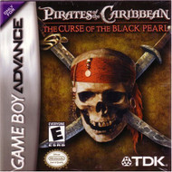 Pirates Of The Caribbean: The Curse Of The Black Pearl GBA Action - EE206498