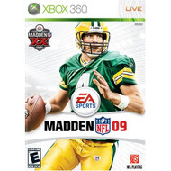 Madden NFL 09 For Xbox 360 Football - EE618690