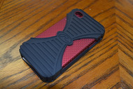 Rawling's Triple-Play Hard Case For iPhone 4/4S Red - EE438152