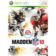 Madden NFL 10 For Xbox 360 Football - EE575952