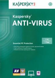Kaspersky Anti-Virus 2015 1 PC Software - EE566474