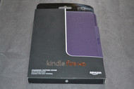 Amazon Kindle Fire HD 7 Standing Leather Case Royal Purple Will Only - EE527424