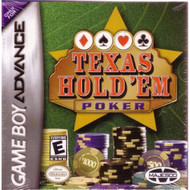 Texas Hold 'Em Poker GBA Action Adventure For GBA Gameboy Advance - EE223383