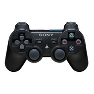 Authentic PS3 Dualshock 3 Wireless Remote Controller Black Gamepad For - ZZ491613