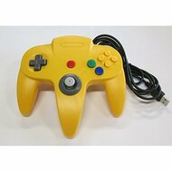 Nintendo N64 USB Controller Yellow By Mars Devices Gamepad - ZZZ99031