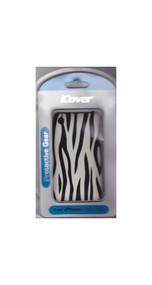 Black Zebra Stripe iCover Case iPhone 3G 3GS Cover Multi-Color Fitted - EE432774