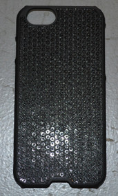 AGENT18 iPhone 6 / iPhone 6S Inlay Black Sequin Inlay Case Cover - EE540165