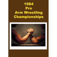1984 Pro Arm Wrestling Championship On DVD Sports - EE512578