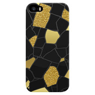 AGENT18 Cell Phone Case For iPhone 5 5S SE Glitter Stones Cover Multi - EE538891