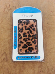 iCover Cat Print iPhone 3G 3GS Case Cover Multi-Color Fitted Case - EE432822