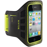 Belkin Easefit Sport Armband For Apple iPhone 4/4S Black / Limelight - EE541176