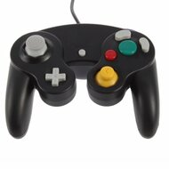 GameCube Black Controller Gamepad For GameCube & Wii - ZZ532227