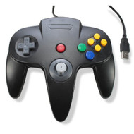 Classic USB Wired Controller For PC And MAC Black For N64 Nintendo - ZZ633645