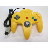 Yellow Replacement Controller For Nintendo N64 By Mars Devices - ZZZ99028