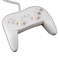 White Classic Stylish Remote Controller Pro For Wii NES Classic - ZZ529105
