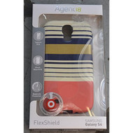 Agent 18 FlexShield Preppy Stripes For Samsung Galaxy S4 Case Cover - EE531197