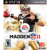 Madden NFL 11 For PlayStation 3 PS3 Football With Manual And Case - EE644709