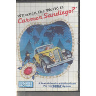 Where In The World Is Carmen Sandiego System For Sega Master Vintage - EE648906