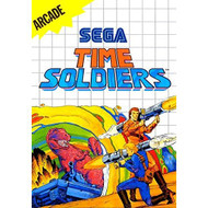 Time Soldiers System For Sega Master Vintage With Manual and Case - EE648911