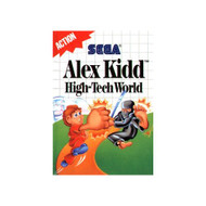 Alex Kidd High Tech World For Sega Master Vintage - EE649183