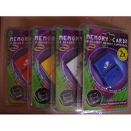 Nyko Memory CARD2 Memory Card 2 Megabit Memory Cartridge For - EE649560