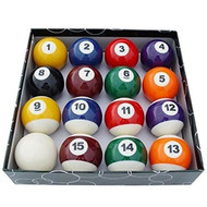 Unique Design Set Of 16 Miniature Mini Pool Balls - DD650055