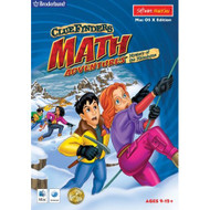 ClueFinders Math Adventures Mystery Of The Himalayas MAC Software - DD650233