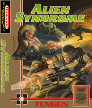 Alien Syndrome For Nintendo NES Vintage - EE651090