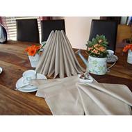 Langheinrich Carat Superior 8 Napkins In A Linen Effect Design 20 By 2 - DD651679