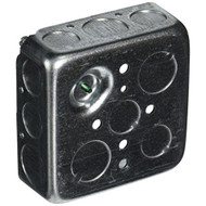 Hubbell-Raco 192SM 1-1/2-Inch Deep Square Electrical Box Drawn With - DD651731