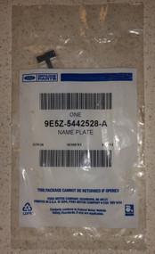 Genuine Ford 9E5Z-5442528-A Nameplate - DD652395