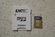 Emtech Micro SDHC Class 10 Micro SD Card 32GB ECMSDAPTW - DD652908