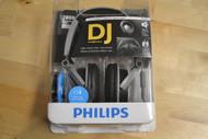 Philips SHL3200/28 DJ Monitor Style Headband Headphones Grey Earphones - DD653703
