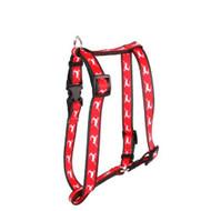 Yellow Dog Design Roman Harness Small/medium Reindeer Print - DD654444