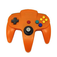 Orange Replacement Controller For N64 By Mars Devices - ZZZ99109