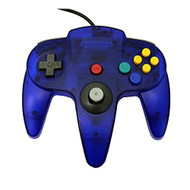 Transparent Blue Replacement Controller For N64 By Mars Devices - ZZZ99110