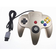 Generic Classic Nintendo 64 Controller Gold For N64 - ZZ655224