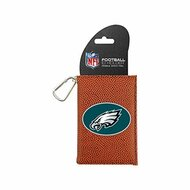 NFL Philadelphia Eagles Classic Football ID Holder One Size Brown - EE655654