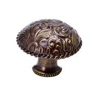 Carpe Diem Hardware 8050-3 Tularosa Large Knob Antique Brass - DD655756