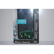 Sparkle & Flow Glitter Case iPhone 5 5S SE Cover Green Fitted V1-01081 - DD655916