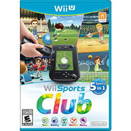 Wii Sports Club For Wii U With Manual and Case - EE656579