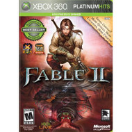 Fable 2 Platinum Hits For Xbox 360 RPG With Manual and Case - EE656857