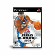 NBA Live 2005 For PlayStation 2 PS2 Basketball - EE657302