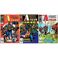 A-Team #1-3 Complete Limited Series Marvel Comics 1984 T 3 Comics Book - D657949