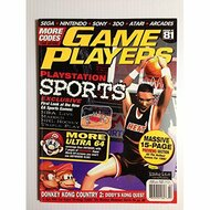 Game Players Magazine Issue 81 February 1996 Feb 1996 PlayStation - D657959