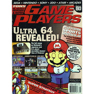 Game Players Magazine Issue 80 January 1996 Jan 1996 Mario N64 - D657957